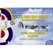 ACH2 RAF Fighters 1950-60: UK-Based Units - Part One. Spitfire, Hornet, Mosquito and Meteor (Air Craft History)
