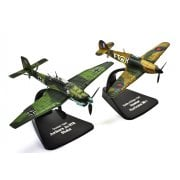 1:72 4909302 Hawker Hurricane Mk.I & Junkers Ju-87B Stuka - Dunkirk 1940 - Duelling Fighters Model Plane
