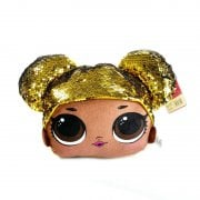 GQB LOL SURPRISE! SEQUIN SOFT TOY - GOLDEN QUEEN BEE 28CM