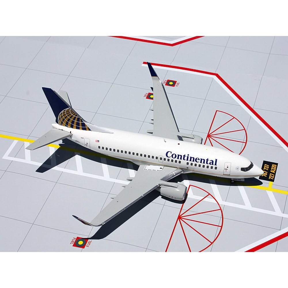Geminijets 1 200 G2coa297 Continental Airlines Boeing 737 500 With Winglets Reg N14645 Geminijets From Kh Norton Uk