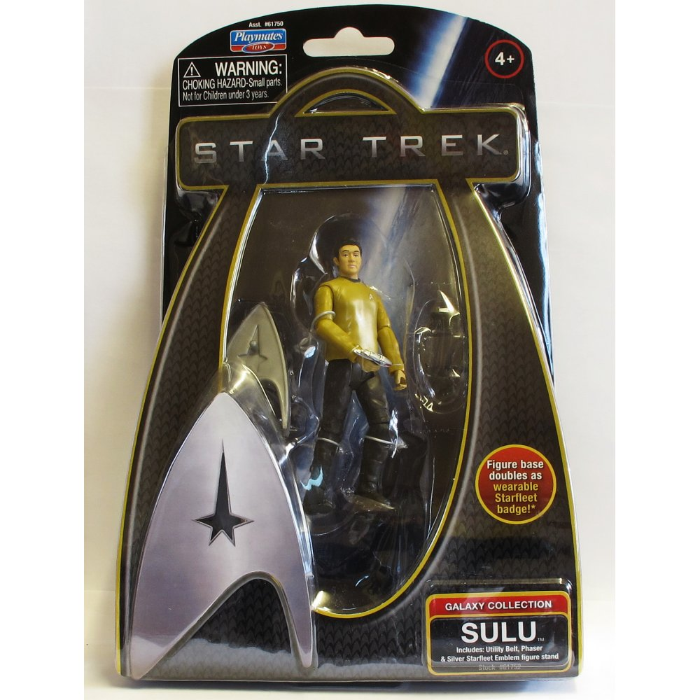 "NEW One 3.5/"" Star Trek Galaxy Collection Figure by Playmates Toys Inc"